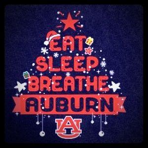 Auburn university Christmas Shirts
